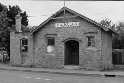 Photograph of brick building, New Lynn