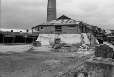 Photograph of Crum Brick & Tile Company sidings