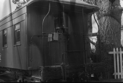 Photograph of carriage at MOTAT