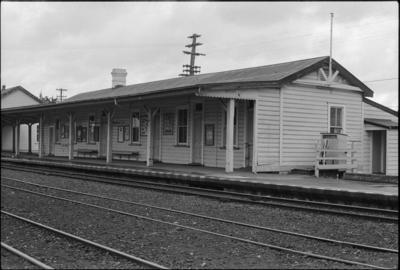 Photograph of Maungaturoto railway station