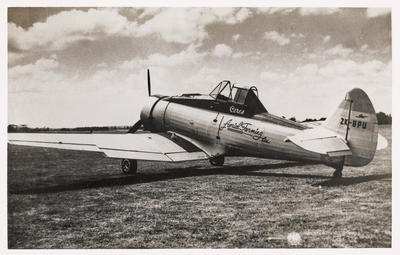 [ZK-BPU CAC Ceres B photograph]; John Page; 20th Century