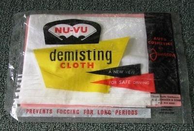 Demisting Cloth