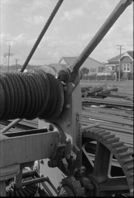 Photograph of rail crane