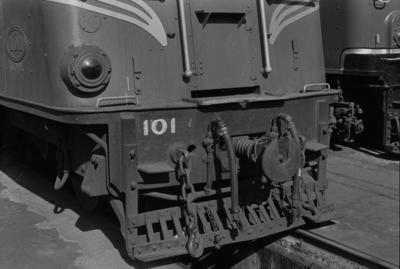 Photograph of electric unit ED 101
