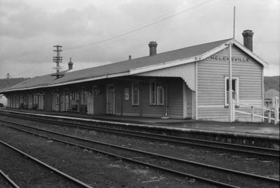 Photograph of Helensville railway station