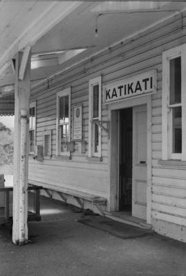 Photograph of Katikati railway station