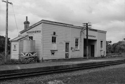 Photograph of Hukerenui railway station