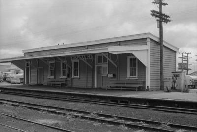 Photograph of Hikurangi railway station