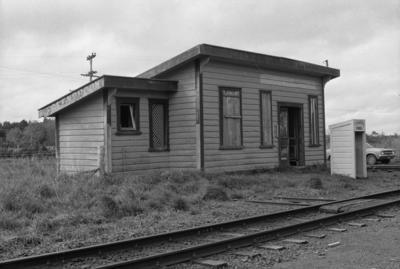 Photograph of old Glenbrook station