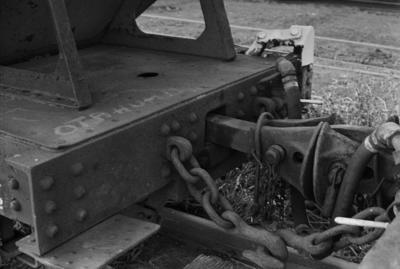 Photograph of ballast wagon YB 577