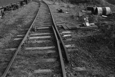 Photograph of rail points