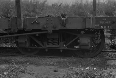 Photograph of wagon bogie