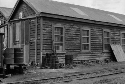 Photograph of engine shed