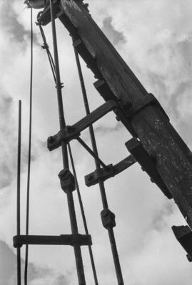 Photograph of coal crane