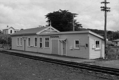 Photograph of Whakapara railway station