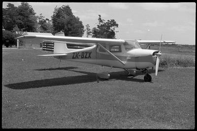BZX 12.1.77 Ardmore [ZK-BZX Cessna 150]; John Page; 12 Jan 1977