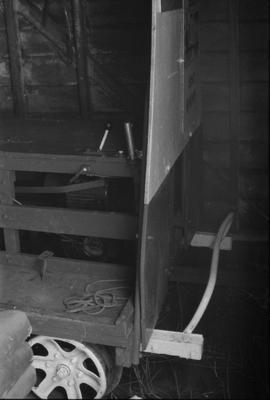 Photograph of small wagon