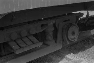 Photograph of carriage bogie