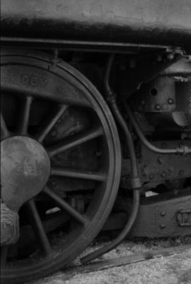 Photograph of locomotive WAB 800