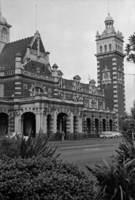 Photograph of Dunedin railway station