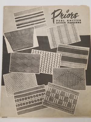 The prior automatic : purl knitter stitch patterns