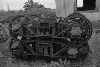 Photograph of 3181 type bogies