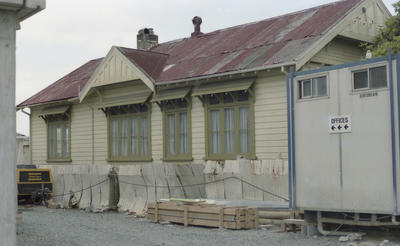Photograph of rail building, Whangarei