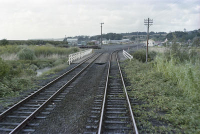 Photograph of approaches to Helensville