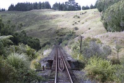 Photograph of small rail bridge, Ahuroa