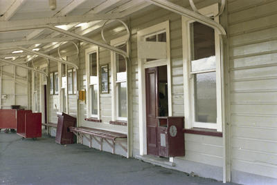 Photograph of Kawakawa railway station