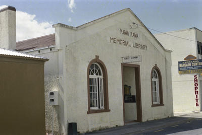 Photograph of Kawakawa library