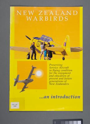 New Zealand warbirds - an introduction
