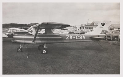 [ZK-CSV Cessna 150G photograph]