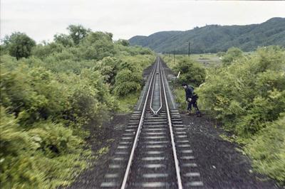Photograph of rail tracks