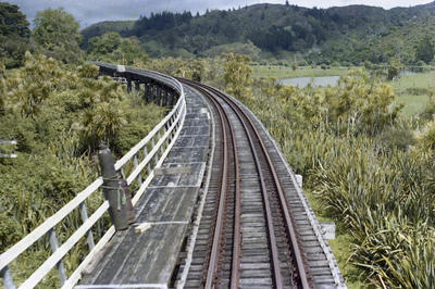 Photograph of rail bridge