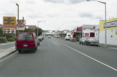 Photograph of Whangarei street