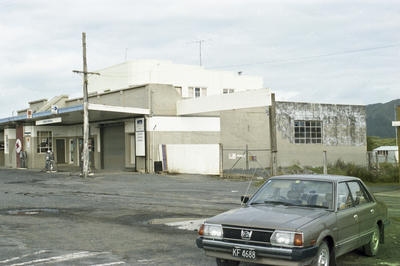 Photograph of Kawakawa service station