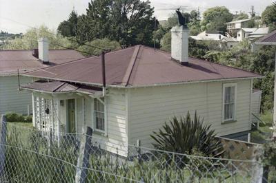 Photograph of railway house