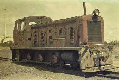 Photograph of locomotive DSA 318