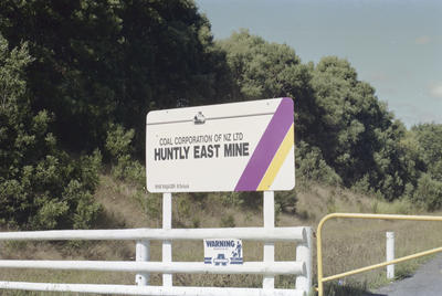 Photograph of Huntly East coal mine