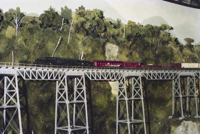 Photograph of MOTAT model railway
