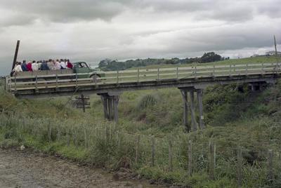 Photograph of bridge over creek