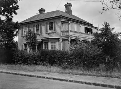Victorian villa domestic dwelling