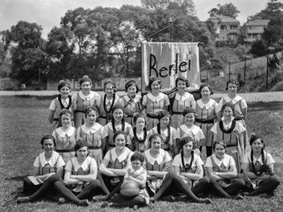 Basketball (netball) team