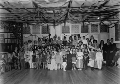 Children dressed in costume