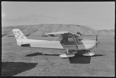 DFE 31.3.72 Momona [ZK-DFE Cessna A150L Aerobat]