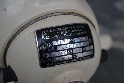 Electric Portable Dental Drill; Kaltenbach & Voigt (KAVO)