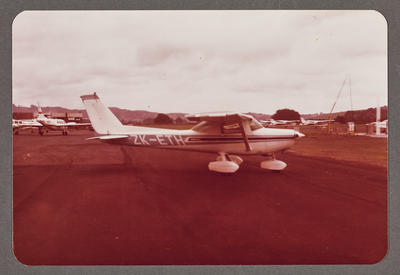 ZK-ETH Cessna 150 21.10.80 Ardmore