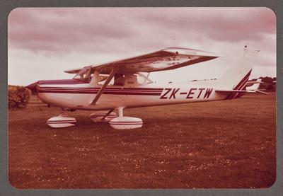 ZK-ETW Cessna 150 18.10.81 Ardmore
