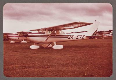 ZK-ETZ Cessna 150 18.10.81 Ardmore